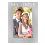 Personalised 4x6 Photo Frame - Mr & Mrs