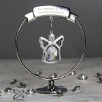 Crystocraft Angel Ornament with Swarovski Elements