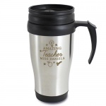 Personalised Travel Mug - Amazing Teacher
