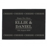 Personalised Slate Cheese Board - Cheese Cheese Cheese