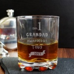 Personalised Whisky Tumbler - no.1 Awarded By