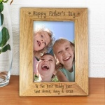 5x7 Wooden Frame - Happy Father's Day