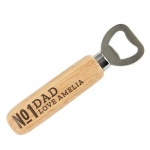 Personalised Wooden Bottle Opener - No.1