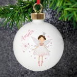 Personalised China Bauble - Fairy Princess