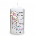 Daffodil Chick Easter Candle