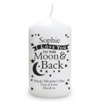To the Moon and Back... Candle
