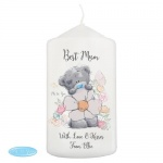 Personalised Pillar Candle - Me to You Floral