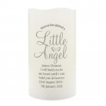Personalised LED Candle - Little Angel