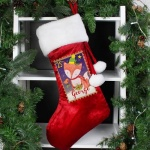 Personalised Luxury Stocking - Festive Fox