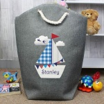 Personalised Storage Bag - Sailboat