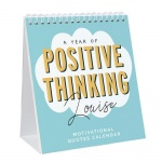 Personalised Desk Calendar - Motivational Quotes