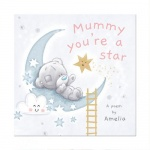 Personalised Tiny Tatty Teddy Poem Book - Mummy You're A Star