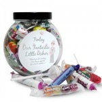 Personalised Fabulous Wedding Sweet Jar - Usher