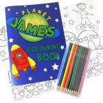 Space Colouring Set