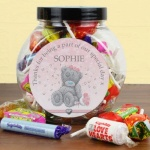 Personalised Tatty Teddy Me To You Wedding Sweet Jar - Girls Role