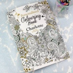 Personalised Adult Colouring Book - Botanical