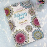 Personalised Adult Colouring Book - Mandala