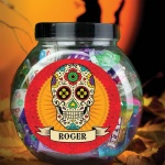 Personalised Sweet Jar - Sugar Skull