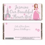 Fabulous Wedding Chocolate Bar - Flower Girl