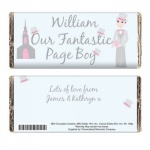 Fabulous Wedding Chocolate Bar - Page Boy