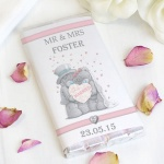 'Tatty Teddy' Me To You Wedding Couple Chocolate Bar