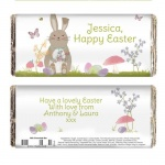 Easter Meadow Bunny Chocolate Bar