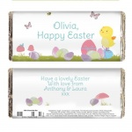 Easter Meadow Chick Chocolate Bar