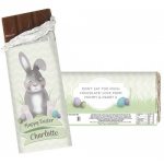 Personalised Chocolate Bar - Easter Bunny