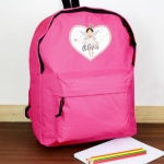 Personalised Pink Backpack - Fairy Princess