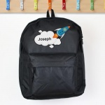 Personalised Backpack - Rocket