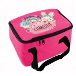Personalised Pink Lunch Bag - Bunny
