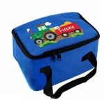 Personalised Blue Lunch Bag - Tractor