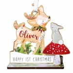 Personalised Make Your Own 3D Decoration Kit - Festive Fawn