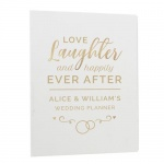 Personalised Wedding Planner - Happily Ever After
