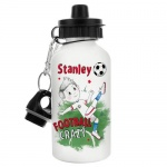Personalised Water Bottle - Football Crazy