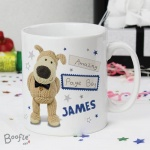 Personalised Boofle Wedding Mug - Male