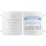 Personalised Ceramic Mug - Promoted To