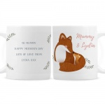 Personalised Mug - Mummy & Me Fox