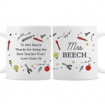 Personalised Mug - School Teacher