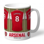 Personalised Ceramic Mug - Arsenal FC Dressing Room