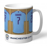 Personalised Ceramic Mug - Manchester City FC Dressing Room