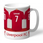 Personalised Ceramic Mug - Liverpool FC Dressing Room
