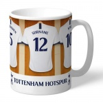 Personalised Ceramic Mug - Tottenham Hotspur FC Dressing Room