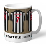 Personalised Ceramic Mug - Newcastle United FC Dressing Room
