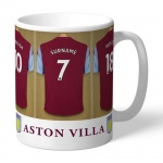 Personalised Ceramic Mug - Aston Villa FC Dressing Room