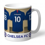 Personalised Ceramic Mug - Chelsea FC Dressing Room