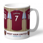 Personalised Ceramic Mug - West Ham United FC Dressing Room