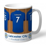 Personalised Ceramic Mug - Leicester City FC Dressing Room