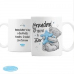 Personalised Ceramic Me To You Mug - Grandad You're A Star