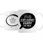Personalised Ceramic Mug - Totally Awesome